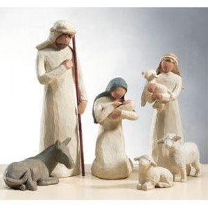 Six-Piece Nativity Set